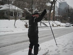 Feamster Nick 2 (cc.gatech) Tags: atlanta snow storm ice campus georgia education downtown tech snowstorm freeze georgiatech sleds techsquare 2011 collegeofcomputing snomaggedon