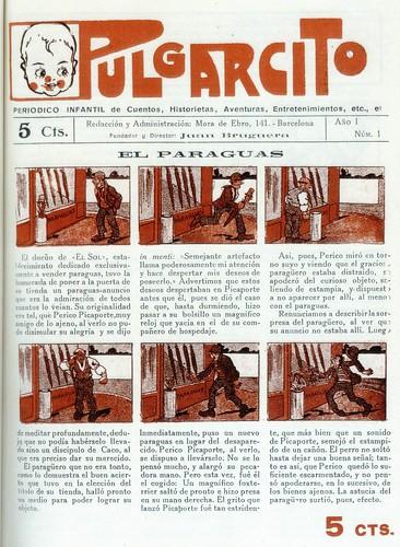 012-Pulgarcito nº 1 año 1921 portada
