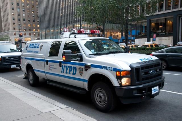 newyork manhattan nypd midtown policecar esu fordf250 newyorkpolicedepartment emergencyservicesunit