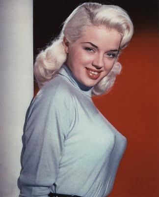 Beverly Owen sweater girl blonde 1950s