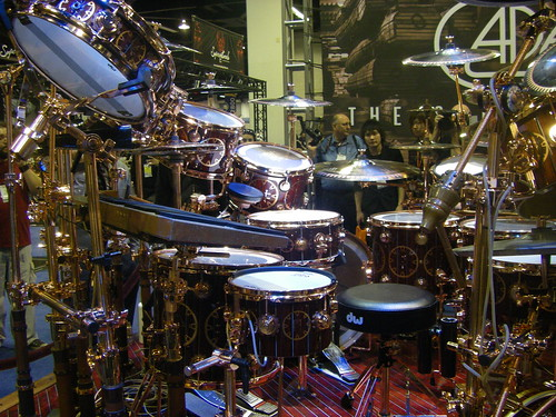 Neil Peart Time Machine Drum Kit. Neil Peart Time Machine Drum