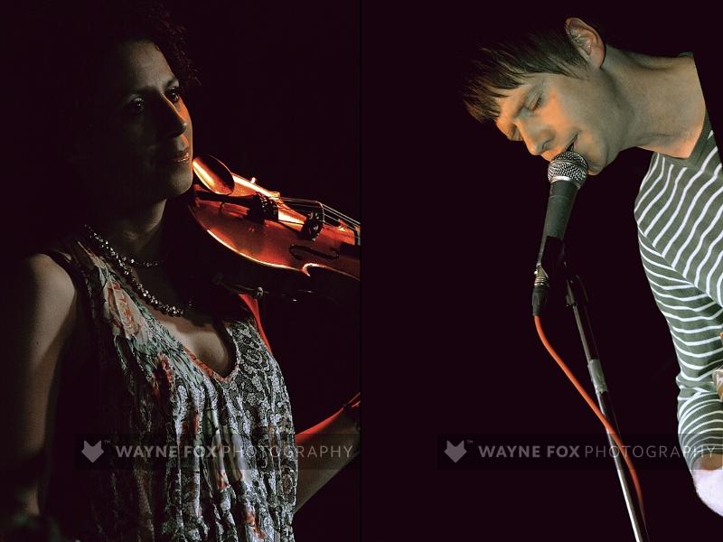 Ben Calvert and Hannah Lawson
