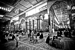 Imam Hussain A.S (Karbala) #28 (Hussain Isa) Tags: city festival horizontal shrine day mark iraq capital religion center baghdad ashura karbala pilgrimage preparation  assembling kilometer        shiiteislam      arbaeen