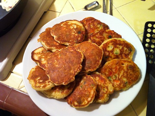 "vegetable ""fritters"" from Time for Dinner"