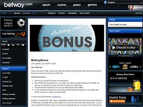 Betway Sport Bonus
