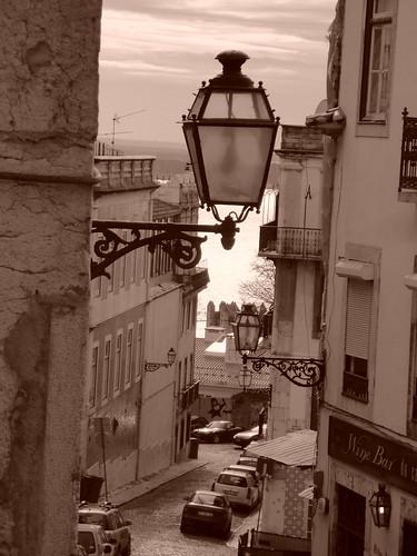 Lisbona, uno scorcio romantico della città