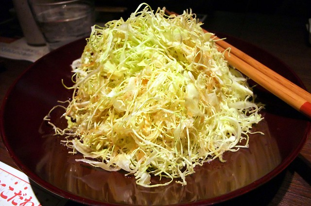 Simple Shredded Cabbage Salad