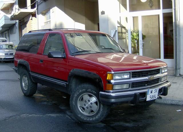 chevrolet tahoe 1995 1500