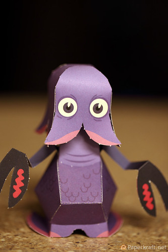 Papertoy Monsters Book 001