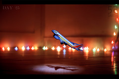 ~ Take off (Darsh55) Tags: project airplane flying bokeh brother levitation first hyderabad day25 darshan mpl khanna 465 darsh55