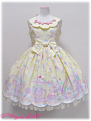 Angelic Pretty Milky Planet JSK in Yellow