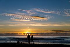 San Francisco Sunset (andreaskoeberl) Tags: sanfrancisco california sunset sky usa sun beach silhouette clouds us nikon unitedstates sanfran 1685 d7000 nikon1685mmf3556 nikond7000 andreaskoeberl
