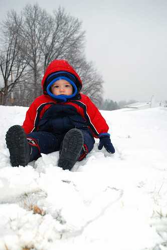 Brandon in the Snow