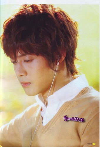 Kim Hyun Joong My Idol Indonesian Magazine 85th Edition
