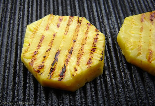 Grilled Pineapple with Nuttella 3