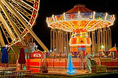 Navy Pier.. Chicago (m greenbaum photography) Tags: chicago night ferriswheel amusementpark navypier hdr
