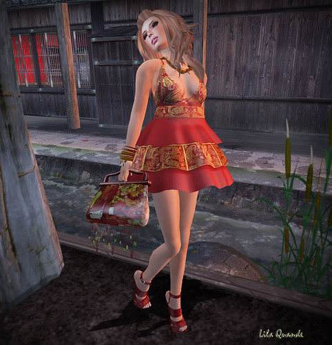 ::COOL BEANS:: - Beloved Dress - Red