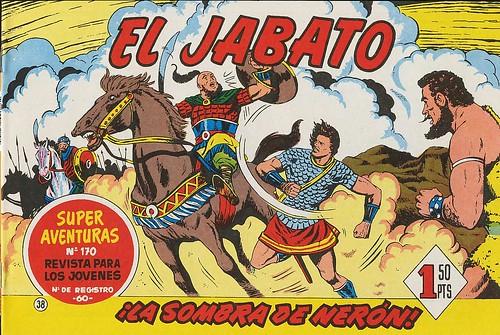 019-El Jabato nº 38-edicion 1958-portada