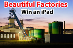 Beautiful Factories, manufacturing software, Apple iPad, Lenzr photo contest