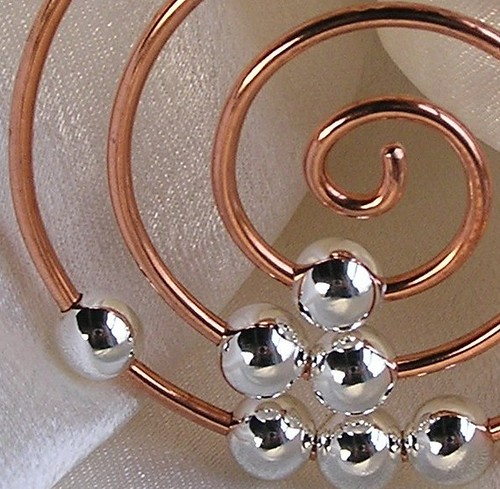 abacus spiral pendant
