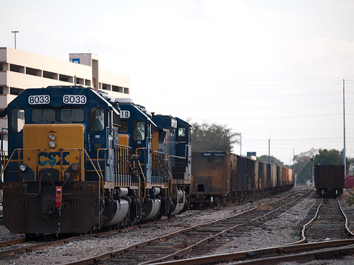 Three Diesel Locomotives
