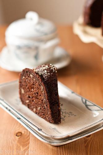 Chocolate Crumbs In Ice Cream Cake