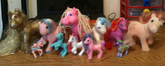 My little pony childhood (Spooky-Cute) Tags: old toys mcdonalds 1995 1990s 1990 90s mylittlepony oldtoys 1990toys