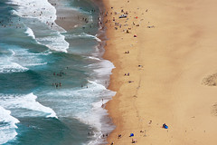 (MagdaBis) Tags: ocean sea summer people holiday hot beach water waves oz wave australia nsw newsouthwales bathing snad stenwellpark