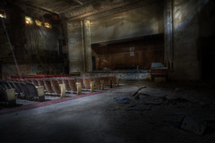 Sattler abandoned Theater (andre govia.) Tags: building abandoned strange buildings hospital photo closed photos decay ghost andre haunted creepy explore trespass horror ghosts sanatorium left explorers decaying ue hospitals asylums govia bext andregovia
