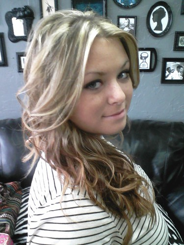 Chunky Blonde Highlights In Brown Hair