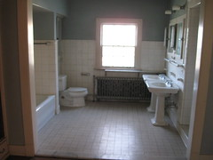 Bathroom, James H. Foster Residence
