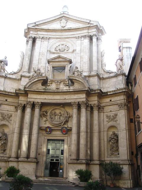 ローマの建築物のフリー写真素材
