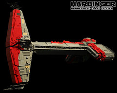 Hammerhead (mediocrelego) Tags: star starwars ship republic lego wars harbinger 2010 kotor knightsoftheoldrepublic