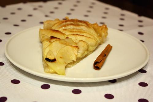 tarta cu mere usoara