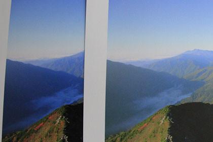 EPSON PX-5VとPX-5600の写真の比較