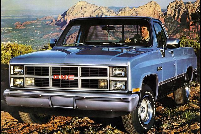 pickup sierra 1984 1983 gmc
