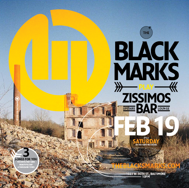The Black Marks Zissimoss Show CD insert