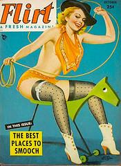 Flirt cover october 1952