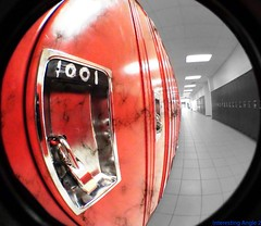 Lockers (ShredTheGnar49) Tags: distortion canada abstract photoshop lens photography death hardware video crazy cool angle skateboarding doesnt sony wide symmetry full fisheye textures hd rule hdr stills thirds matter 4mp necessarily opteka xr100 02x 03x shredthegnar49