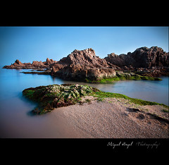 Sueo | Dream (mireba72) Tags: blue espaa seascape beach azul mar spain playa girona catalunya calma costabrava cala lloretdemar santacristina