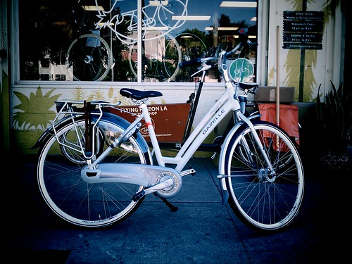 Gazelle Chamonix Pure 2011 at Flying Pigeon LA bike shop