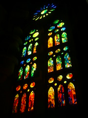 Vitral (Don't call me Antoine) Tags: espaa spain bcn sagradafamilia