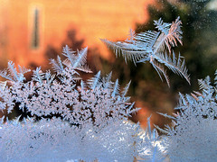 Ice Crystals on Red 2'11_8384 (photoholic1) Tags: winter macro ice window canon frost crystals february icecrystals g9