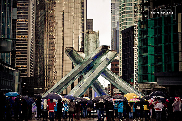 Vancouver Winter Olympics 1 Year Anniversary Celebrations