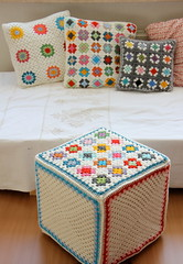 All my colors..pouf and cushions (IDA Interior LifeStyle) Tags: home colors blog interiors apartment crochet garland interiordesign cushions styling inspirations sfgirlbybay interiorstyling idainteriorlifestyle idalifestyle