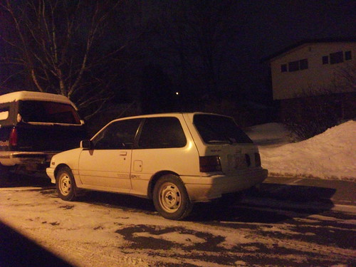 Suzuki 3 Cylinder. Suzuki Forsa three door hatch