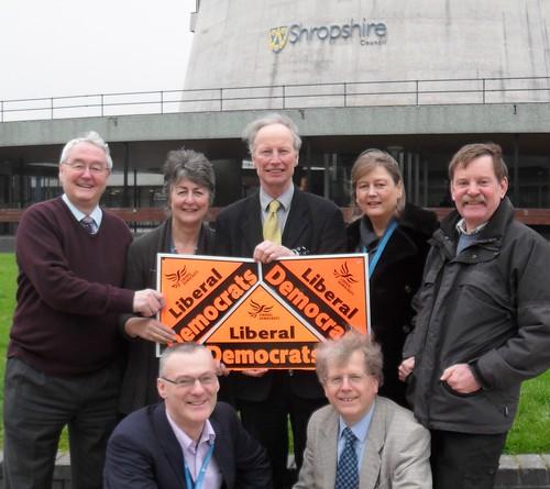 New Shropshire Councillor Andrew Bannerrman