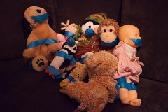 Playtime gone wrong (wondermade) Tags: kids toys dolls stuffedanimals gagged hostages gonewrong lumixg20f17