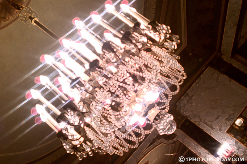 Chandelier at Palace Theater
