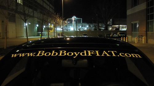 7 - 2012 FIAT 500 @ Ohio Stadium - 43232